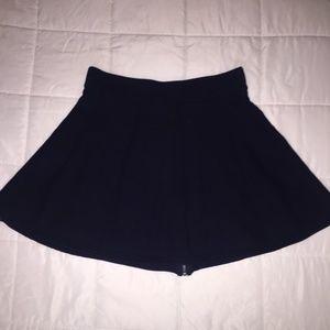 Cynthia Rowley Blue Sweater Skirt SZ M